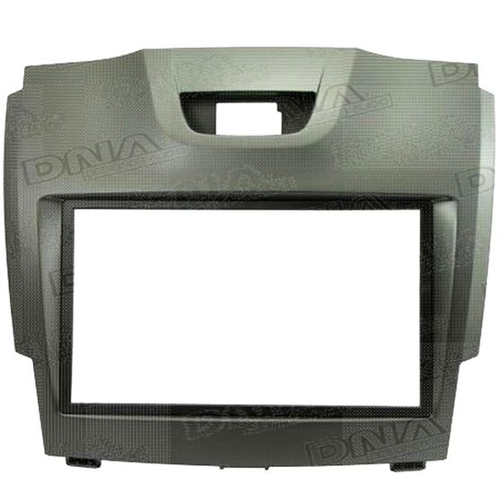 FITTING KIT HOLDEN COLORADO / ISUZU D-MAX 2012 ON DOUBLE DIN (GREY), , scanz_hi-res