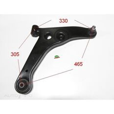 Mitsubishi Lancer 00-09 Front RH lower arm, , scanz_hi-res