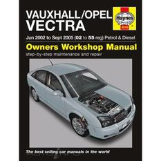 VAUXHALL/OPEL VECTRA PETROL & DIESEL (2002 - 2005), , scanz_hi-res