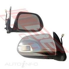 DOOR MIRROR - R/H - ELECTRIC - W/LED - CHROME, , scanz_hi-res