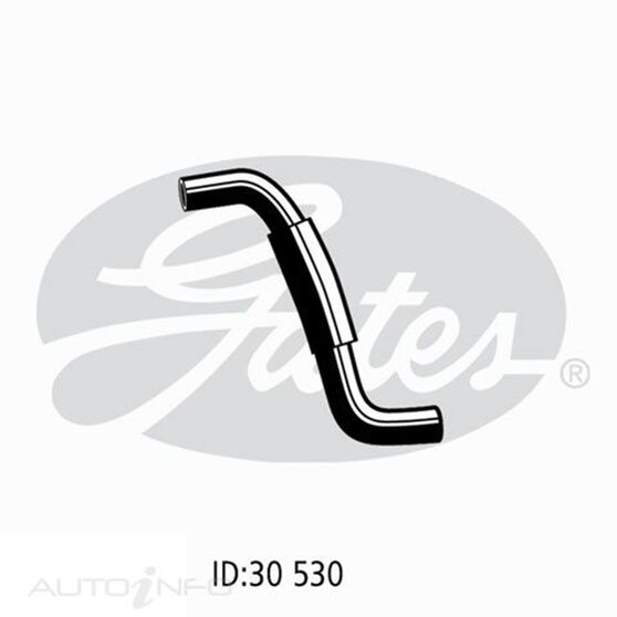 HOSE LOWER TOY COROLLA 1.8L 7AFE