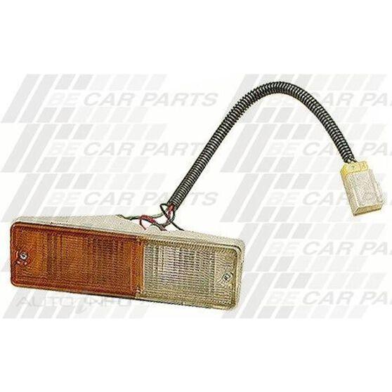 BUMPER LAMP - L/H - AMBER/CLEAR, , scanz_hi-res