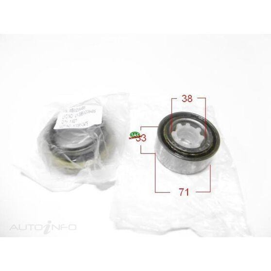 Toyota Various, BMW X5 Front wheel bearing kit, , scanz_hi-res