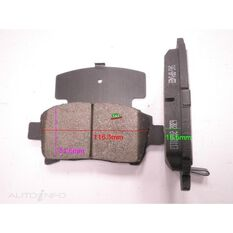7695-D990=FMSI for Royale Brake Set  F  Toyota Corolla /Echo / Prius
