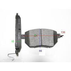 D969-7870=FMSI for Royale Brake Set  F  Nissan Murano Z50, , scanz_hi-res