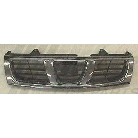 GRILLE - CHROME/DARK GREY