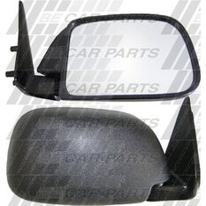 DOOR MIRROR - R/H - BLK - CNR MOUNT, , scanz_hi-res