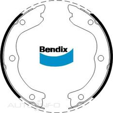 NZ BENDIX BRAKE SHOES, , scanz_hi-res