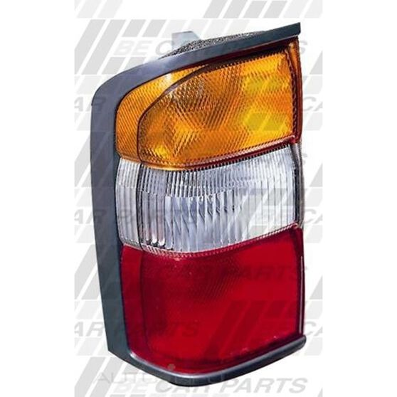 REAR LAMP - L/H - AMBER/CLR/RED, , scanz_hi-res