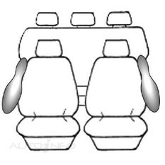 TOYOTA HILUX DOUBLE CAB - SR5 (10/2009 - ON) DEPLOY SAFE (BLACK), , scanz_hi-res