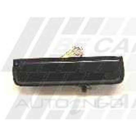 DOOR HANDLE - REAR OUTER - R/H - BLK