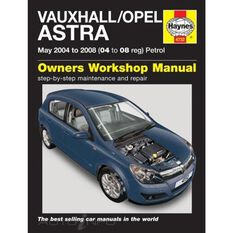 VAUXHALL/OPEL ASTRA PETROL (2004 - 2008)