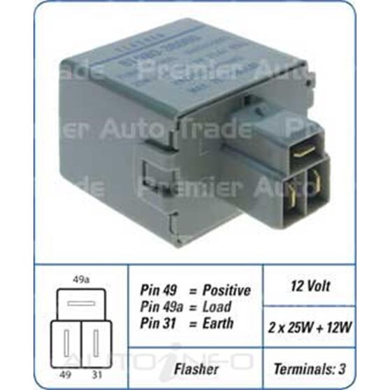 TOY 3PIN FLSHER 81980-36060, , scanz_hi-res
