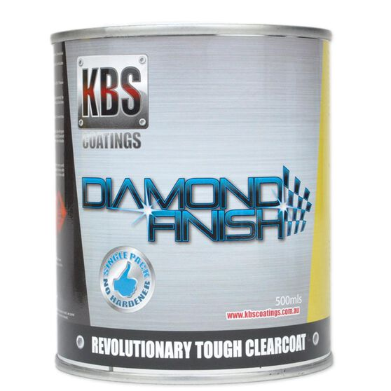 KBS DIAMOND CLEAR COAT FINISH UV STABLE SELF LEVELING 500ML, , scanz_hi-res