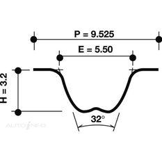 T/BELT MIT HYU 6G72 SOHC >6/94 149*25 V6 2CAM 6A11 92>98, , scanz_hi-res
