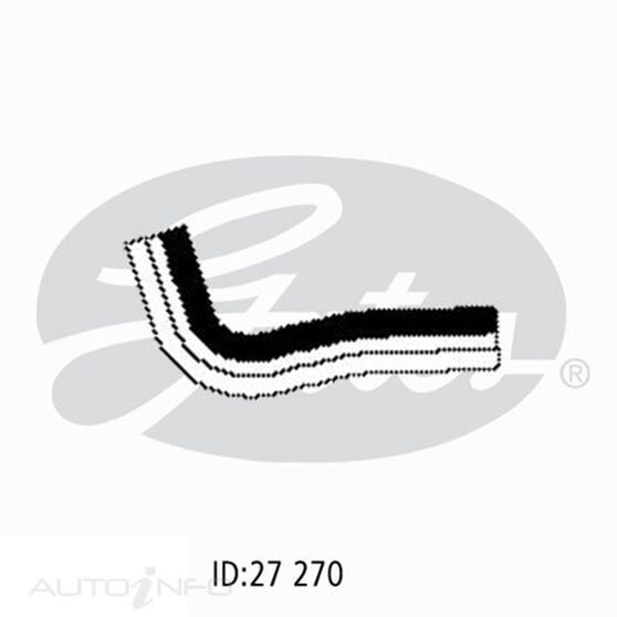 UPPER HOSE HONDA CIVIC 87-94, , scanz_hi-res