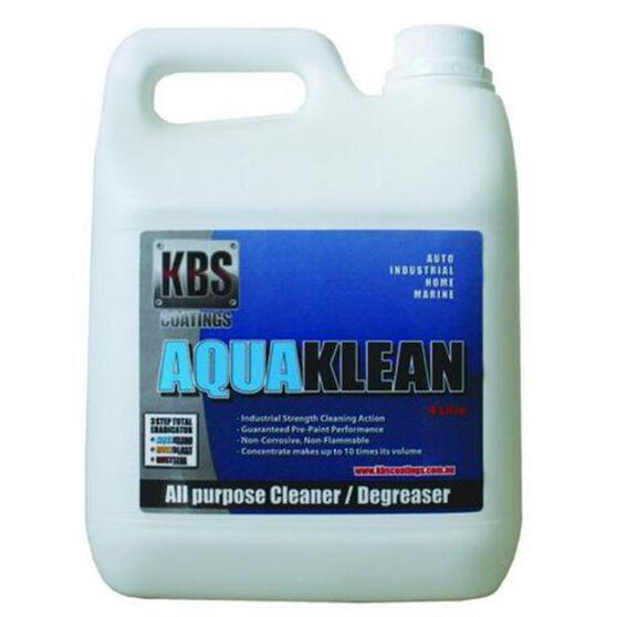 KBS AQUAKLEAN WATER BASED CLEANER & DEGREASER 4 LITRE, , scanz_hi-res