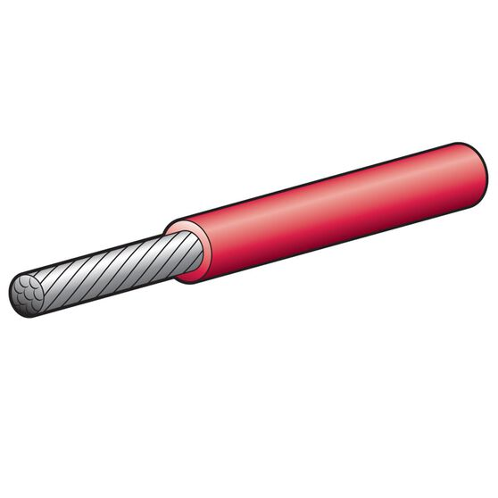 CABLE SINGLE MARINE 4MM RED 30, , scanz_hi-res