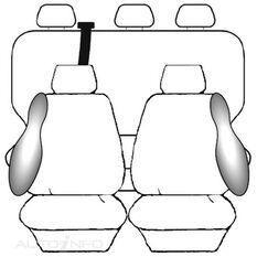VOLKSWAGEN AMAROK 2H DUAL CAB (02/2011 - ON) DEPLOY SAFE (BLACK)