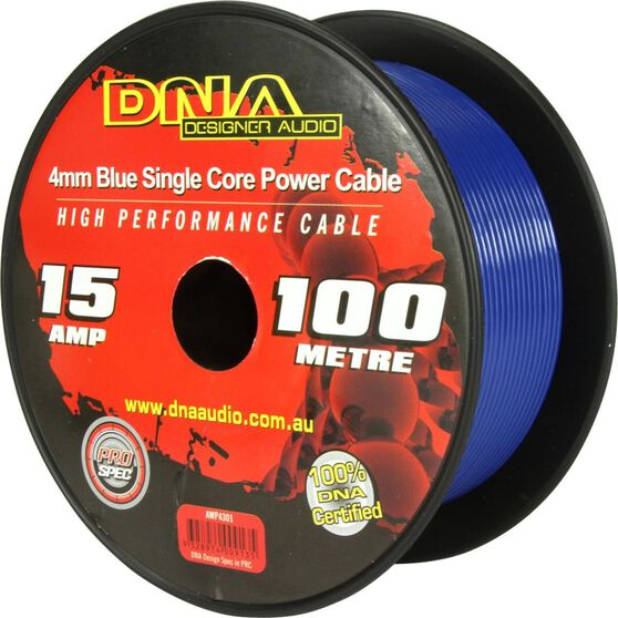 DNA CABLE 15 GAUGE SINGLE CORE CABLE BLUE 100MTR, , scanz_hi-res