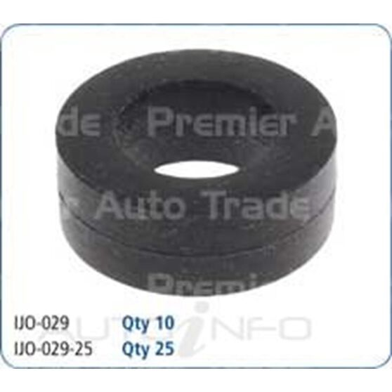LOWER INJECTOR SEAL - PK 25, , scanz_hi-res