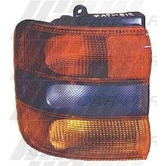 REAR LAMP - L/H - OUTER
