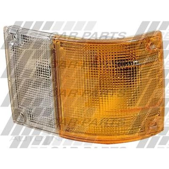 CORNER LAMP - R/H - AMBER/CLEAR, , scanz_hi-res