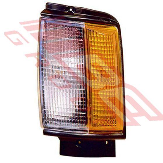 CORNER LAMP - L/H - BLACK TRIM, , scanz_hi-res