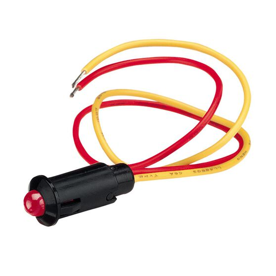 PILOT LAMP 12V FLASHING LED