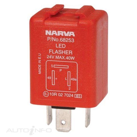 FLASHER ELEC 24V 3 PIN LED, , scanz_hi-res