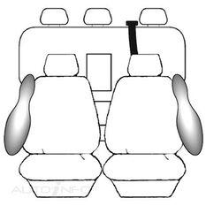 HOLDEN COLORADO RG CREW CAB - LTZ (06/2012 - ON) DEPLOY SAFE (CHAR)