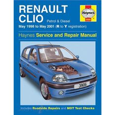 RENAULT CLIO PETROL & DIESEL (1998 -2001), , scanz_hi-res