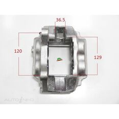 Caliper LHF Landcruiser 100 Series IFS 43mm Piston, , scanz_hi-res