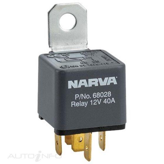 RELAY 24V 5PIN 30 AMP DIODE, , scanz_hi-res
