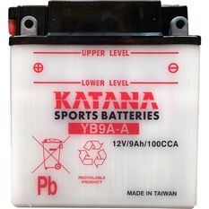YB9A-A Katana Motorcycle Battery, , scanz_hi-res