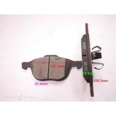 D1044-7947=FMSI for Royale Brake Set  F  Mazda 3 / Ford Focus 03-, , scanz_hi-res
