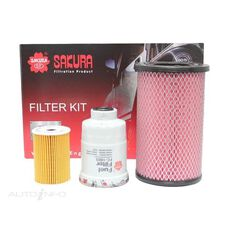 FILTER KIT OIL AIR FUEL NISSAN, , scanz_hi-res