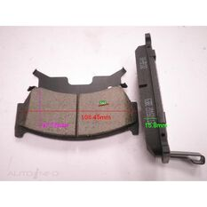 D668-7546=FMSI for Royale Brake Set  F  Nissan Pulsar, Sentra, , scanz_hi-res