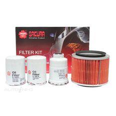 FILTER KIT OIL AIR FUEL NISSAN, , scanz_hi-res