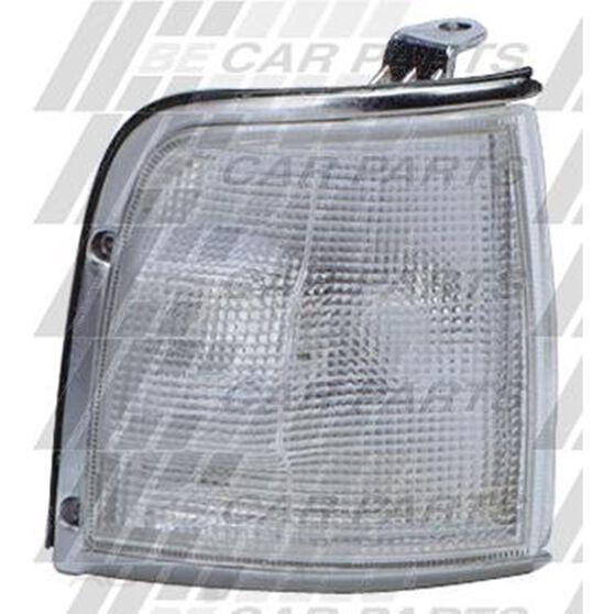 CORNER LAMP - R/H - CLEAR/CHROME