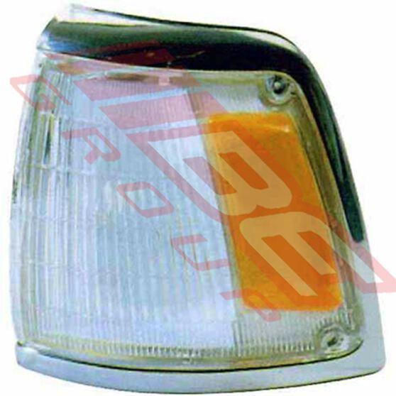 CORNER LAMP - LH - AMBER/CLEAR, , scanz_hi-res