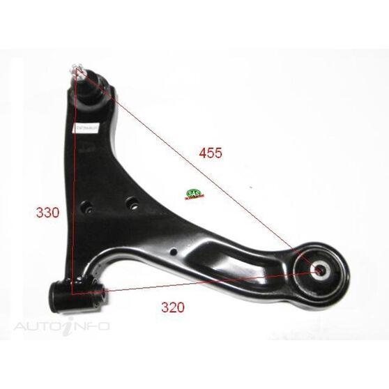Suzuki Vitara 06- Front RH lower arm, , scanz_hi-res
