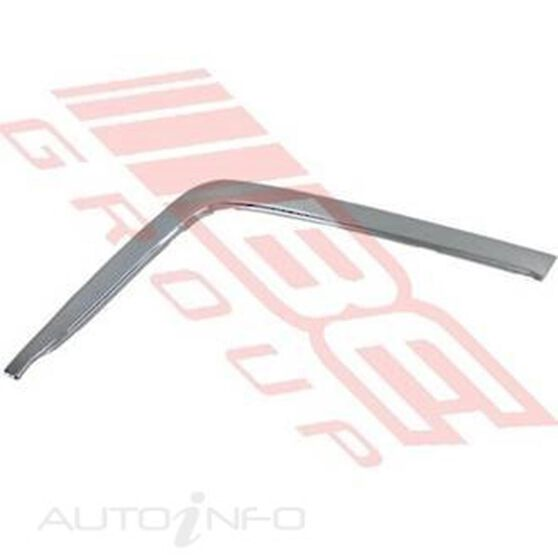 FRONT BUMPER - MOULDING - L/H - EARLY, , scanz_hi-res