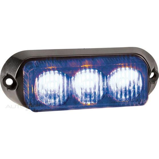 LAMP WARNING 12V 3LED BLUE, , scanz_hi-res