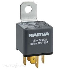 RELAY 12V 5 PIN 40A RESISTOR, , scanz_hi-res