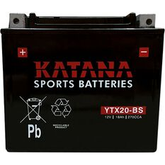 YTX20-BS Katana Motorcycle Battery, , scanz_hi-res