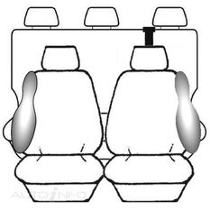 FORD RANGER PX DOUBLE CAB - XL / XLT (10/2011 - ON) DEPLOY SAFE (CHAR), , scanz_hi-res