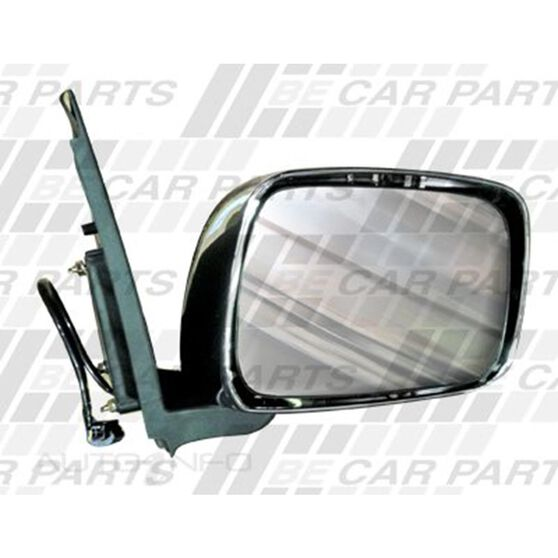 DOOR MIRROR - R/H - ELECTRIC - CHROME