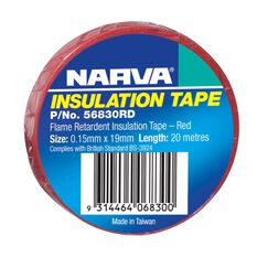 TAPE PVC FLAME RETARD RED, , scanz_hi-res