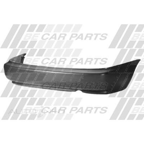 REAR BUMPER - MAT BLACK, , scanz_hi-res